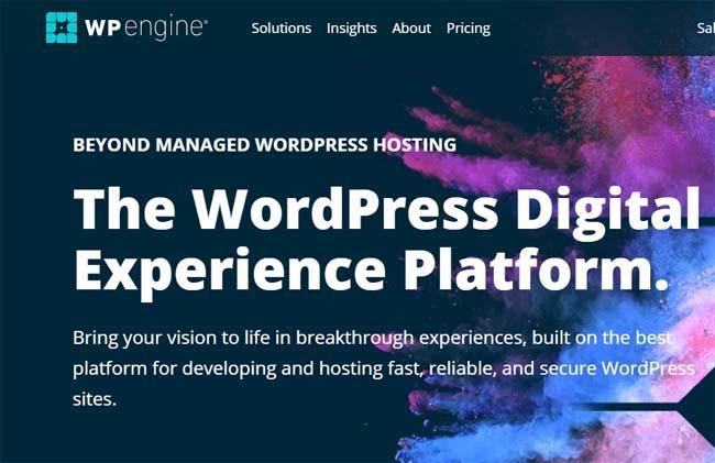 wp engine hosting for real estate website