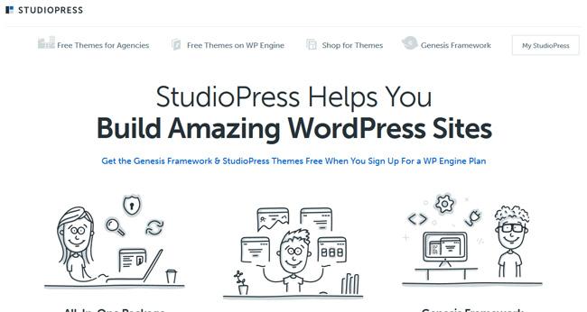 studiopress theme